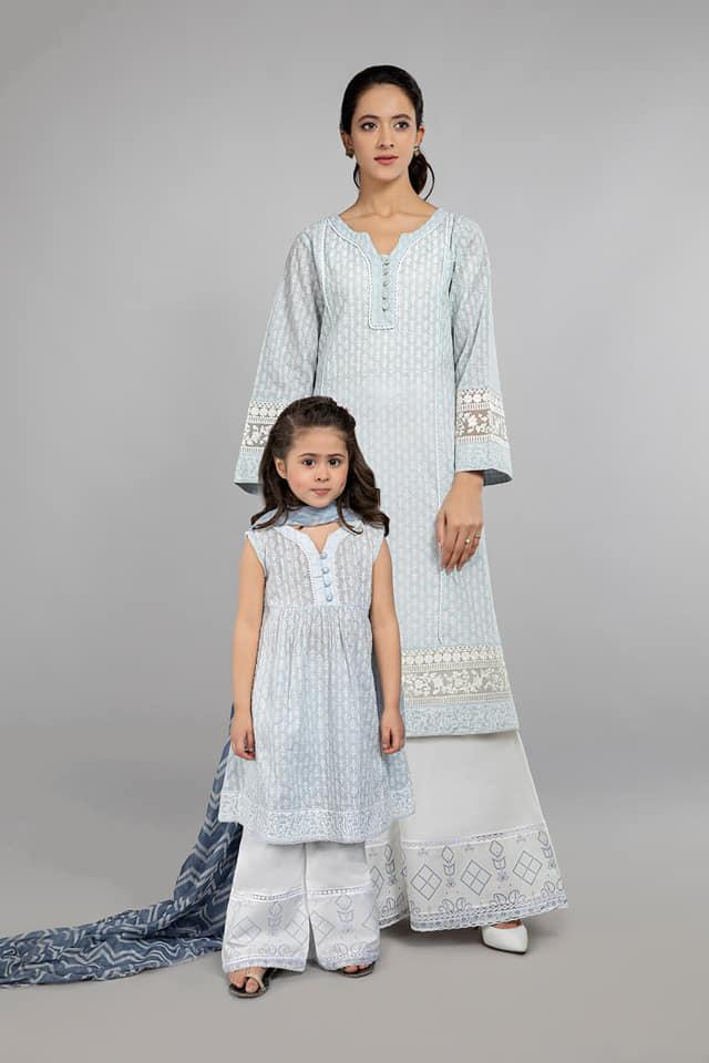 Mommy & Me Collection - White Color