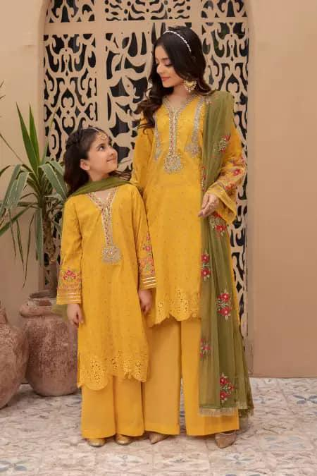 Mommy & Me Collection - Yellow Color