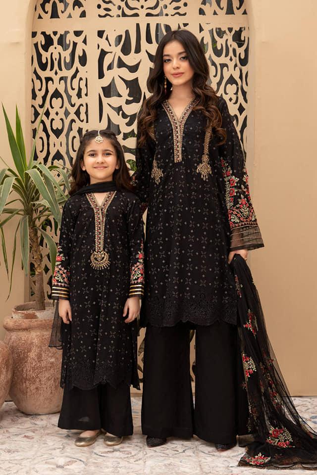 Mommy & Me Collection - Black Color